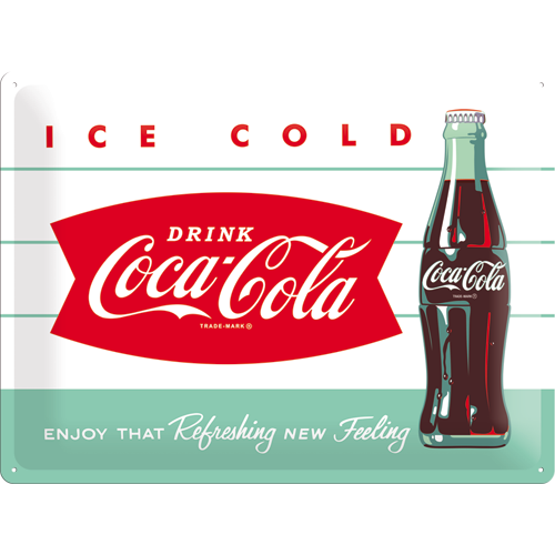 Nostalgic Art Plechová cedule Coca Cola Box Rozměry: 30x40cm