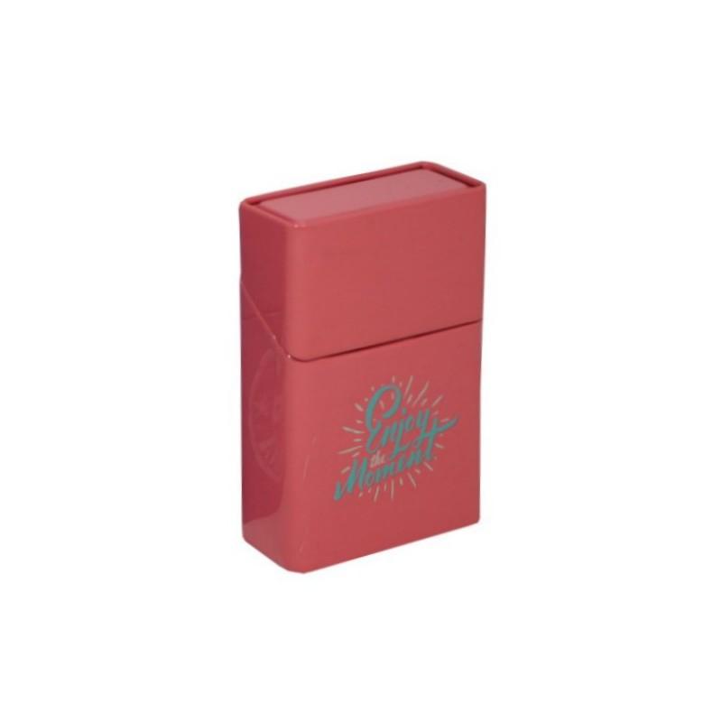 Pouzdro na krabičku cigaret ENJOY Barva: červená