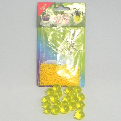 Perly gelové 2cm 700ml 10g Barva: žlutá