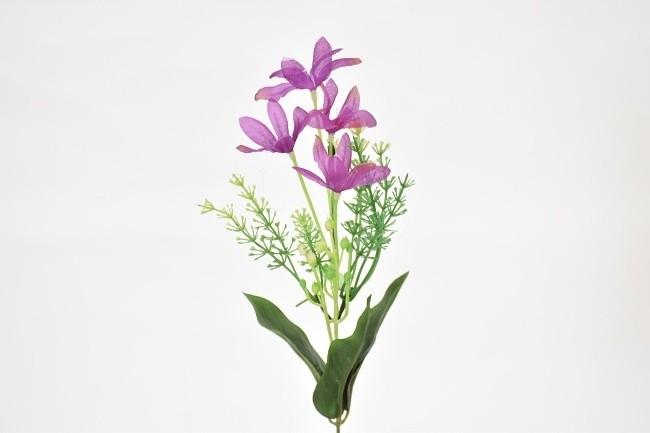 Harasim Umělá květina kopretina 37cm Barva: fialová
