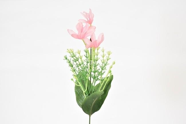 Harasim Umělá květina kopretina 37cm Barva: růžová