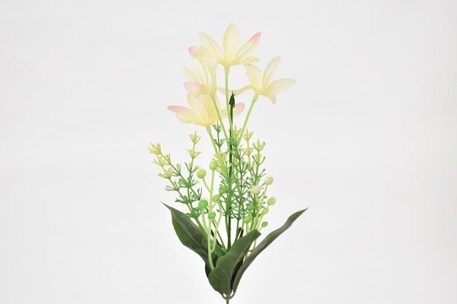 Harasim Umělá květina kopretina 37cm Barva: bežová