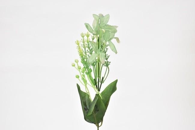 Harasim Umělá květina kopretina 37cm Barva: zelená