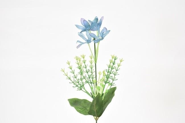 Harasim Umělá květina kopretina 37cm Barva: modrá