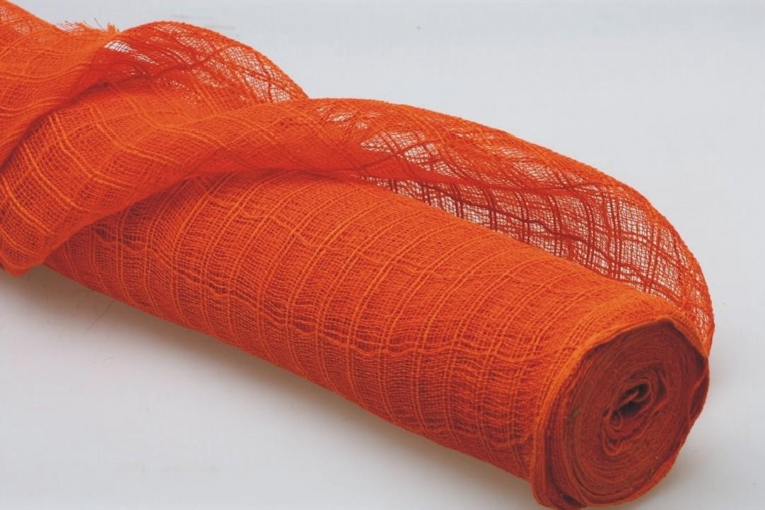 Dekorační látka 60x91cm Barva: oranžová