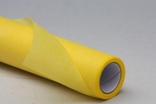 Dekorační role papíru 9m Barva: žlutá