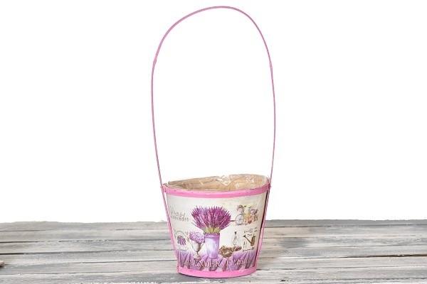 Dřevěný košík Lavender Velikost: větší
