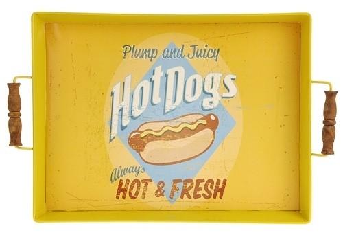 Servírovací podnos BBQ retro Barva: žlutá