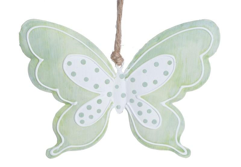 Motýl kovový zelený Velikost: střední