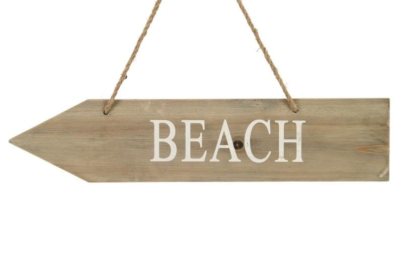 Dřevěná závěsná dekorace BEACH