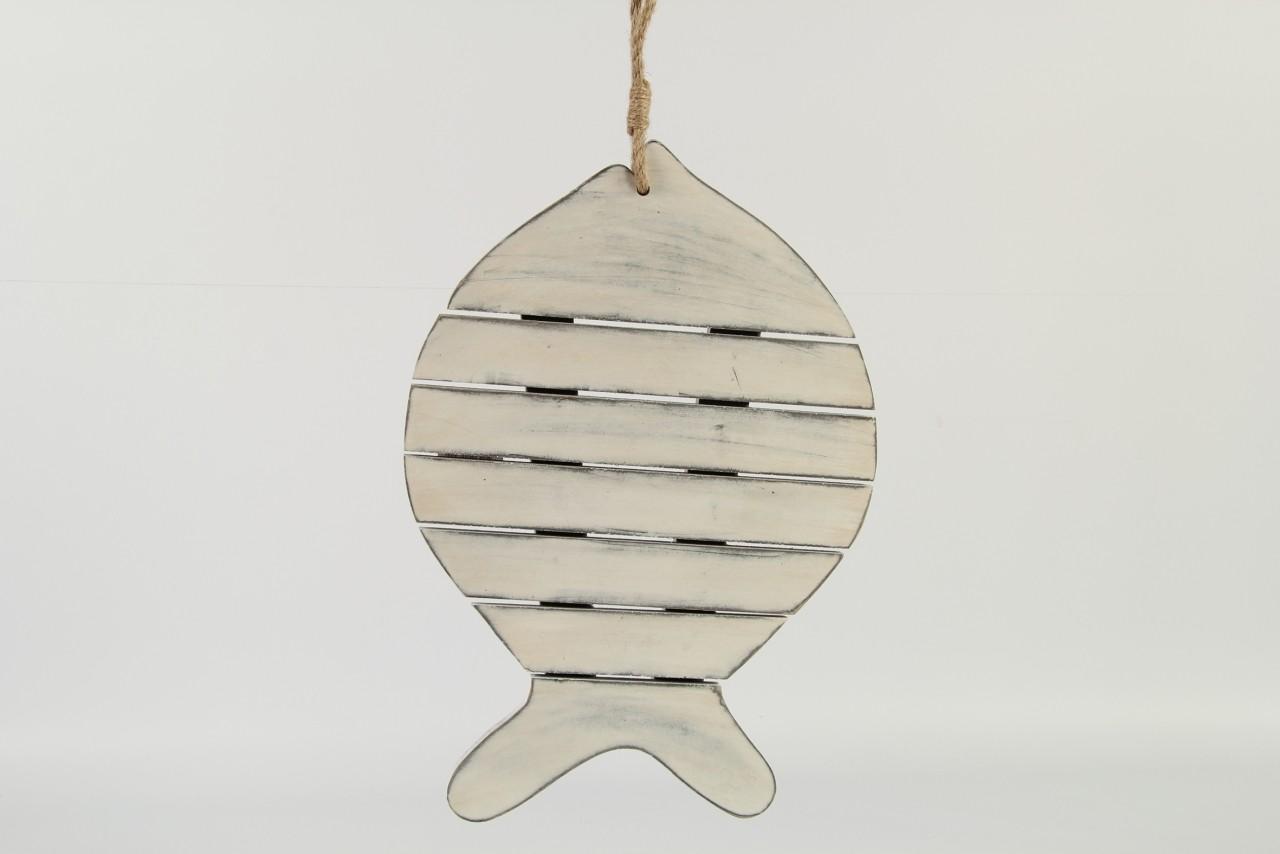 Dřevěná závěsná dekorace ryba Velikost: střední