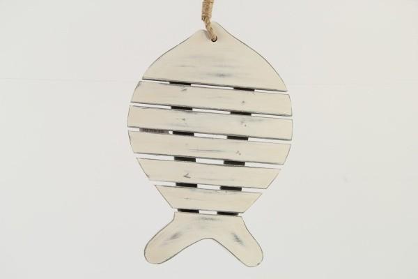 Dřevěná závěsná dekorace ryba Velikost: velká
