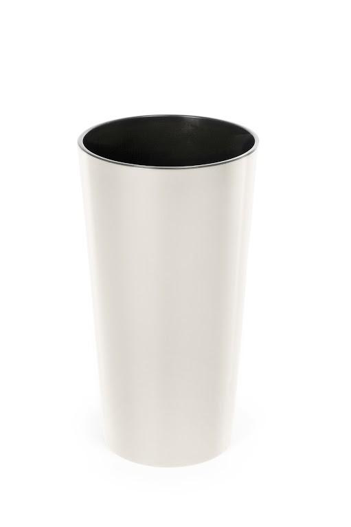Plastový květináč Lilia 370mm Barva: krémová