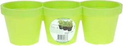Květináč plastový zelený