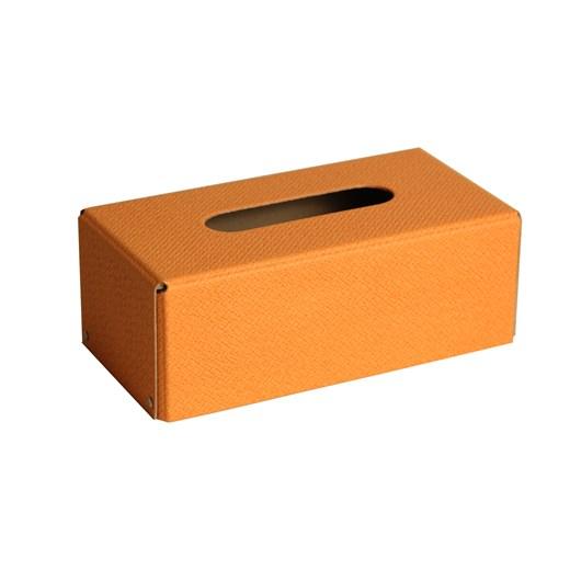 Kazeto Krabička na kapesníky Rattan edition Barva: oranžová