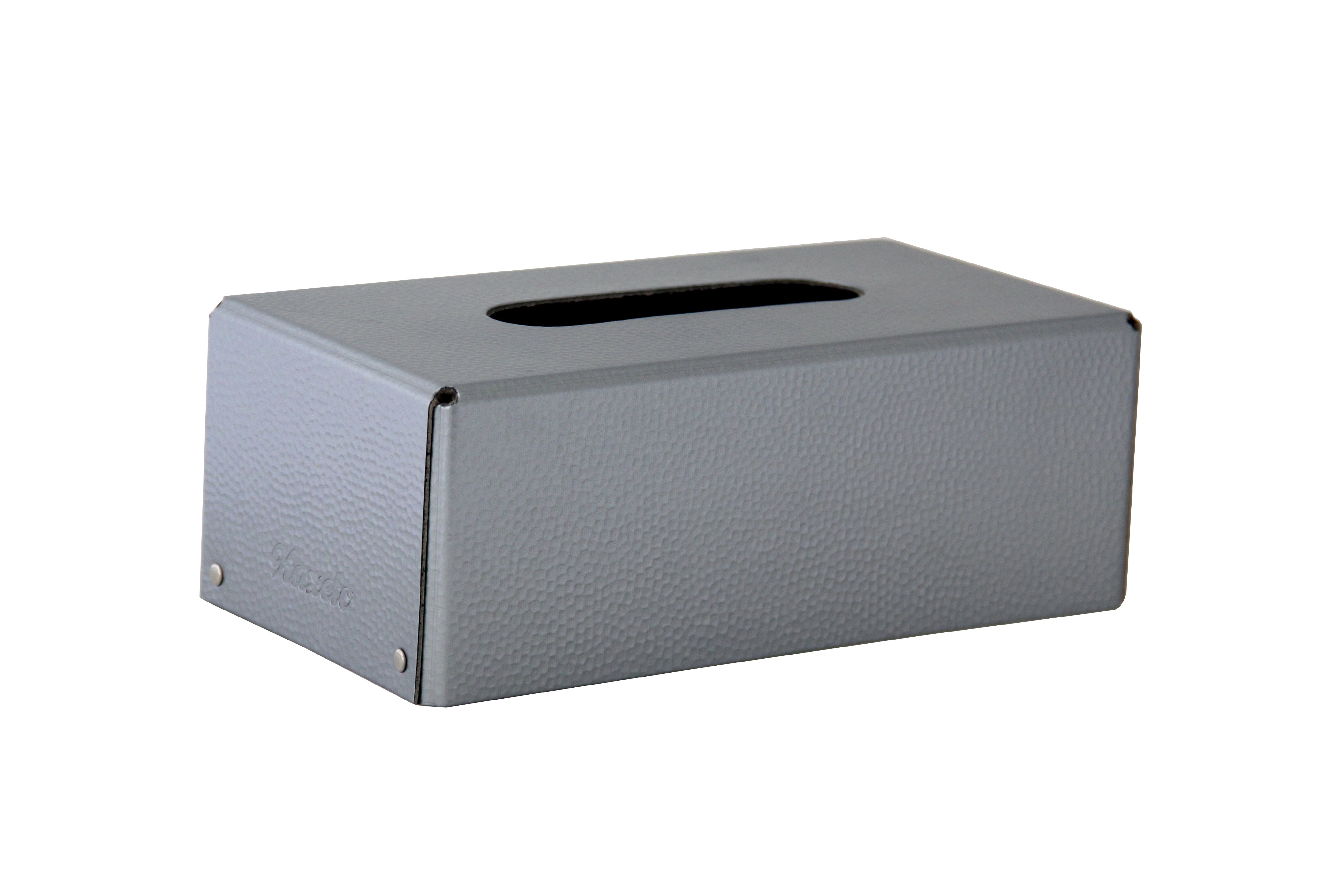 Kazeto Krabička na kapesníky Metal edition Barva: stříbrná