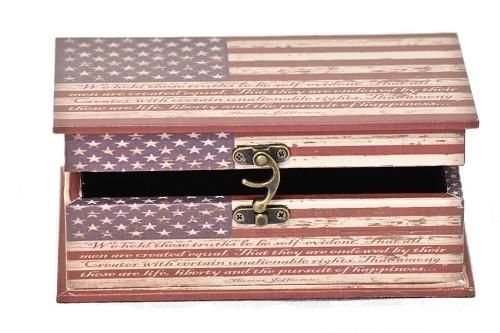 Dřevěná truhla retro obdélník 8x13x20cm Provedení: B