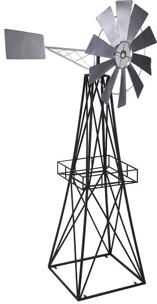 Zahradní dekorace větrný mlýn