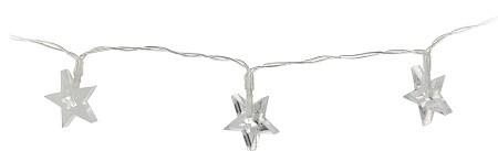 LED světelný řetěz hvězda a stromeček 130cm S motivem: Hvězdička