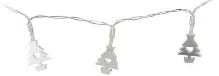 LED světelný řetěz hvězda a stromeček 130cm S motivem: Stromeček