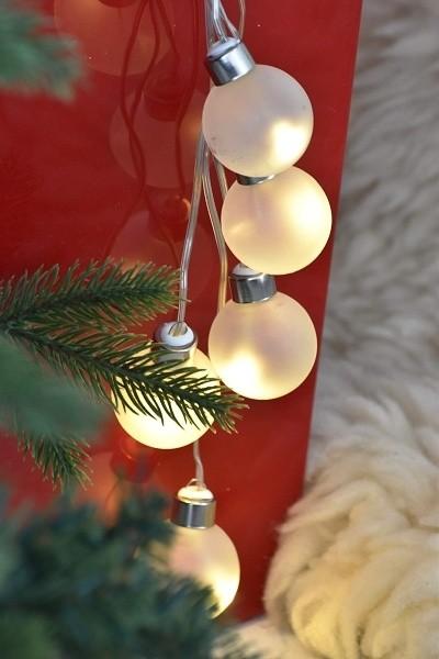 LED osvětlení dekorativní baňka 35cm