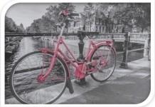 Harasim Úložný plastový box kolo 20x30x40cm Barva: růžová