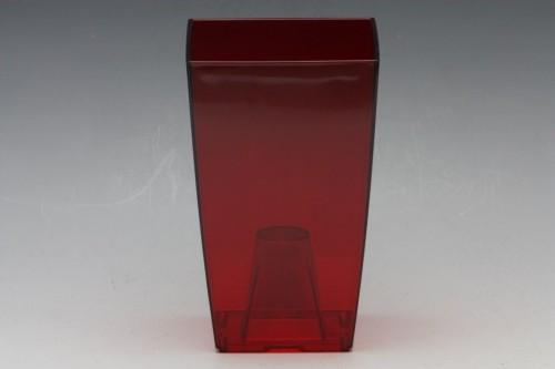 Obal na orchidej Finezia transparentní Barva: červená