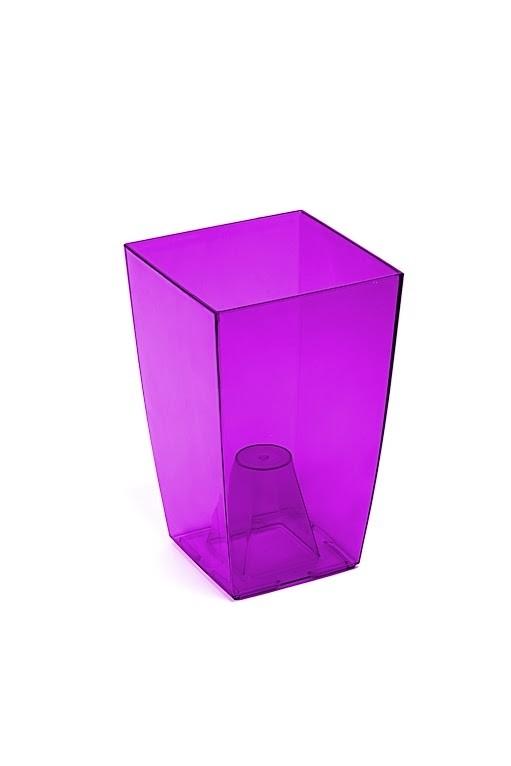 Obal na orchidej Finezia transparentní Barva: fialová