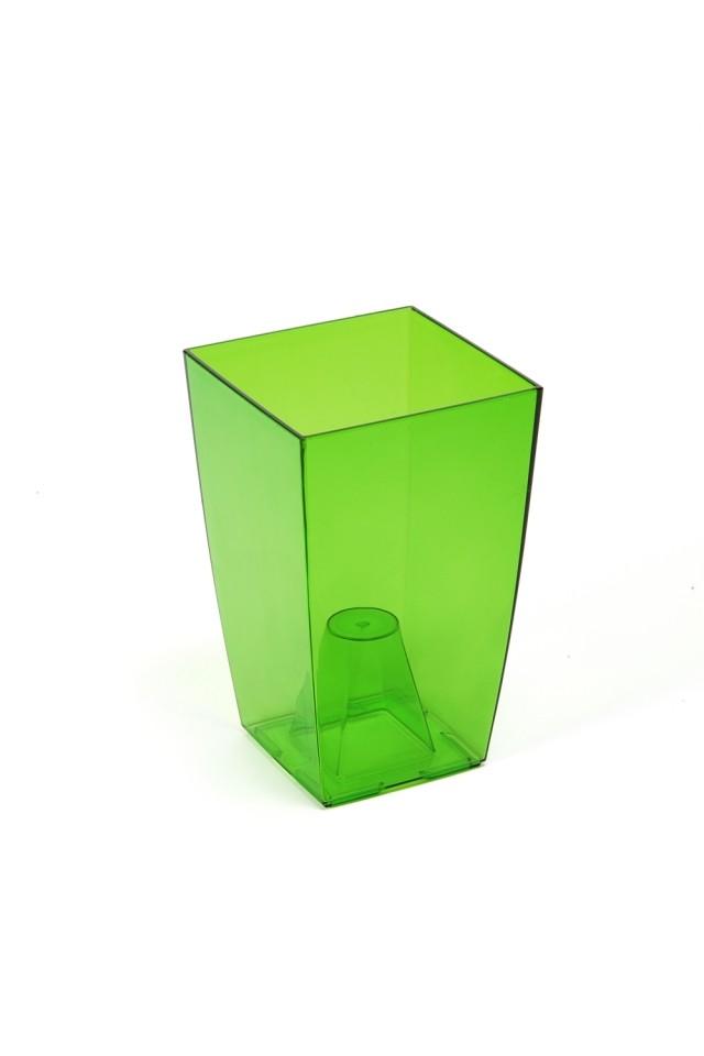 Obal na orchidej Finezia transparentní Barva: zelená