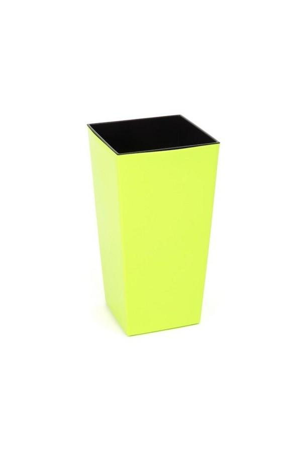 Harasim Plastový květináč Finezia lesklý 37cm Barva: žluto-zelená