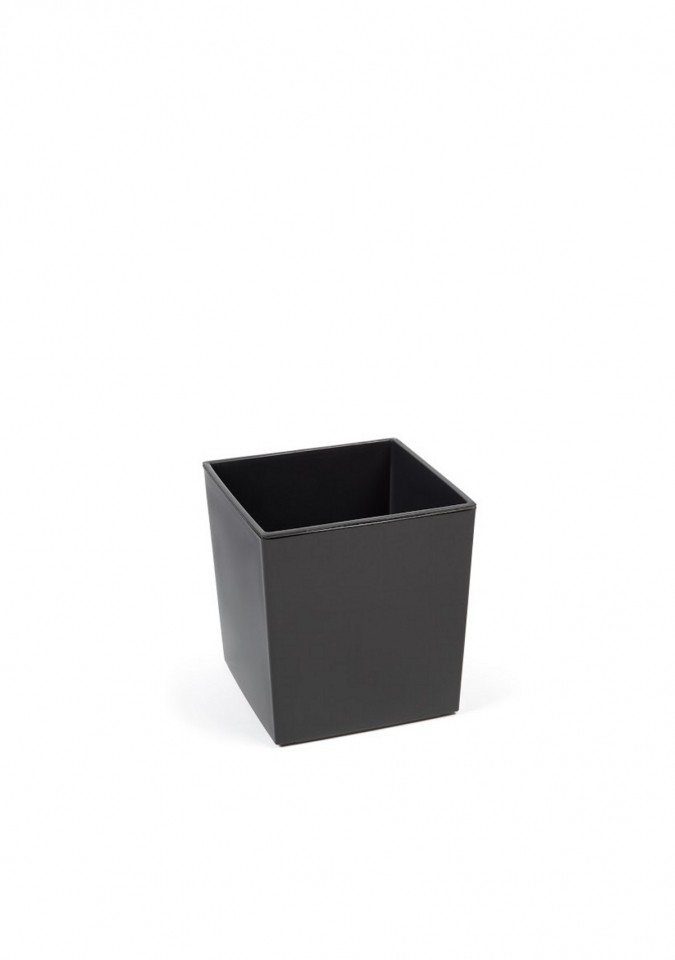 Plastový květináč Juka lesklý 20cm Barva: šedá