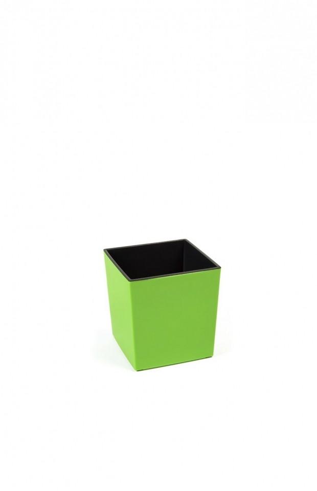 Plastový květináč Juka lesklý 20cm Barva: zelená
