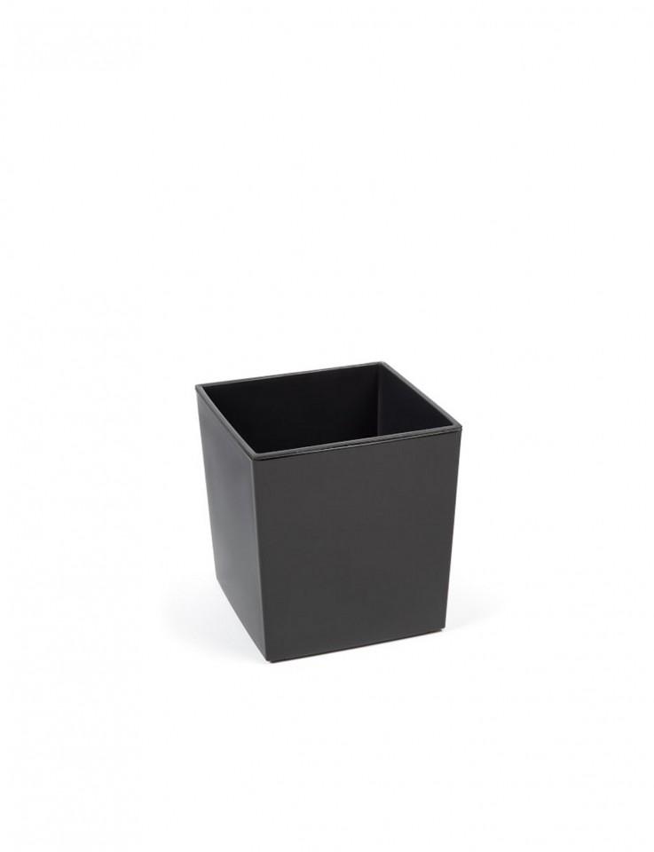 Plastový květináč Juka lesklý 26cm Barva: šedá