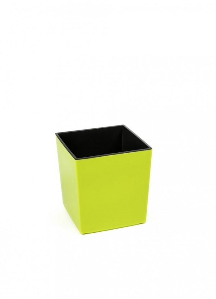 Ostatní Plastový květináč Juka lesklý 26cm Barva: žluto-zelená