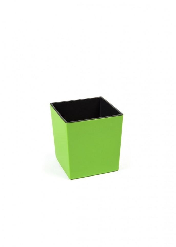 Plastový květináč Juka lesklý 26cm Barva: zelená