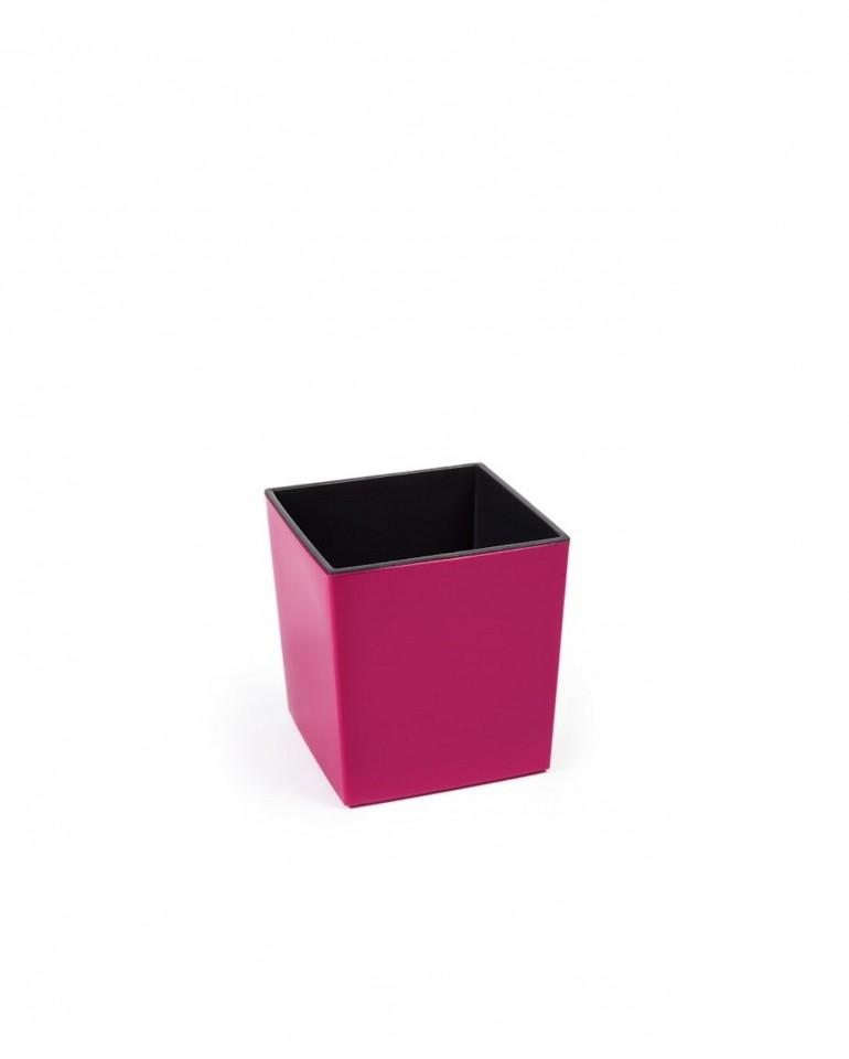 Plastový květináč Juka lesklý 26cm Barva: fuchsia