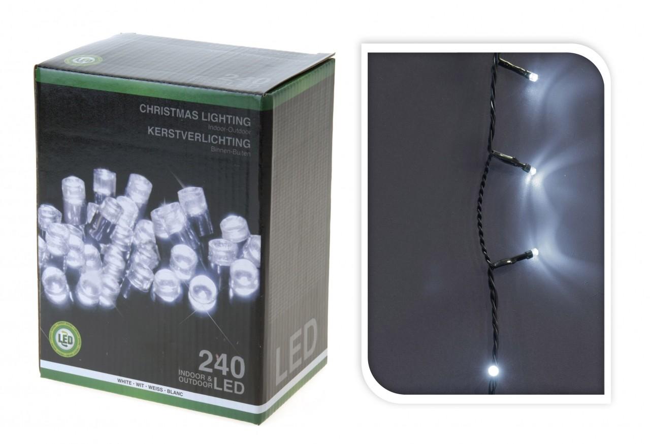 LED osvětlení venkovní 240 světel