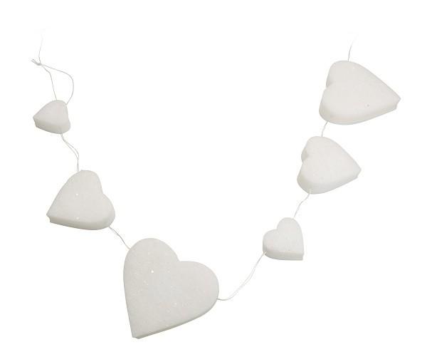 LED světelný řetěz hvězda a srdce 150cm S motivem: srdce
