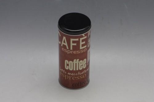 Plechová dóza na kávu 18x8cm S motivem: C