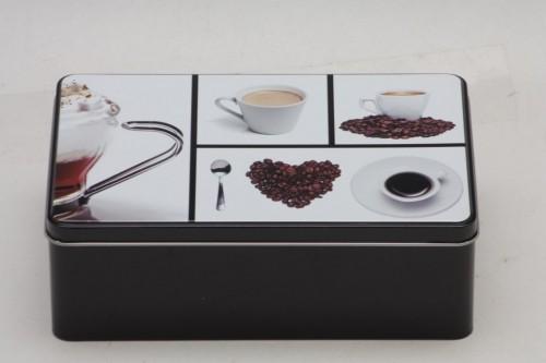 Dóza na sušenky Coffee 20x13x7cm Provedení: B