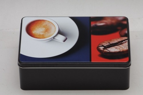 Dóza na sušenky Coffee 20x13x7cm Provedení: A