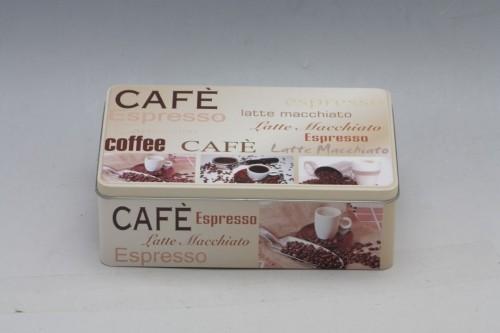 Plechová dóza Coffee 20x13x7cm Provedení: C