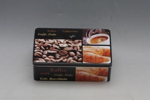 Plechová dóza Coffee 20x13x7cm Provedení: D