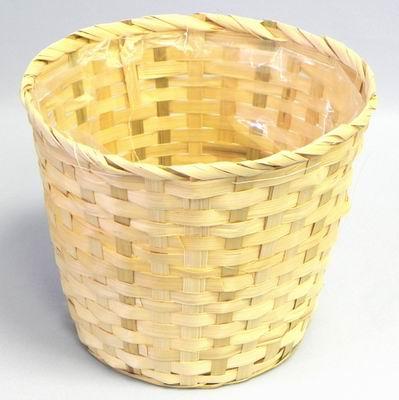 KA Koš bambus natural Barva: světlá, Provedení: Větší