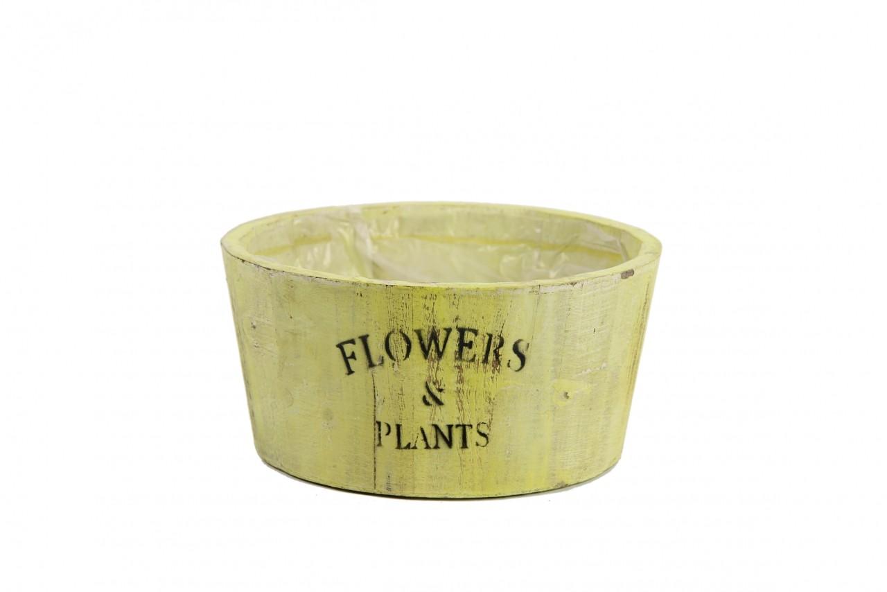 Obal na květiny dřevěný Flowers and Plants