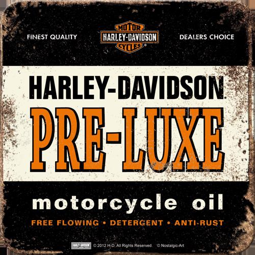 Nostalgic Art Podtácek HARLEY DAVIDSON PRE LUXE II Rozměry: 9x9cm 1ks, Kolekce: HARLEY DAVIDSON PRE LUXE
