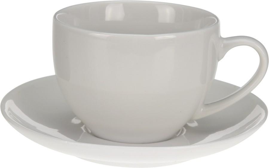 Hrnek s podšálkem cappuccino 200ml