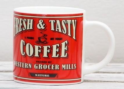 Keramický hrnek Retro Coffee 400ml Provedení: C