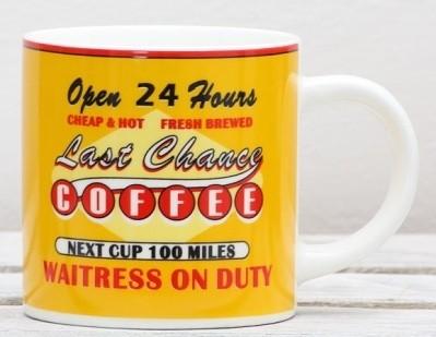 Keramický hrnek Retro Coffee 400ml Provedení: B