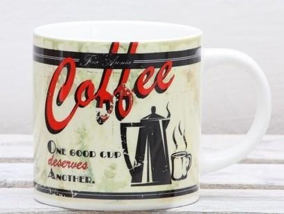 Keramický hrnek Retro Coffee 400ml Provedení: A